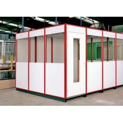 Cabine d'atelier 4 x 2 palettisable