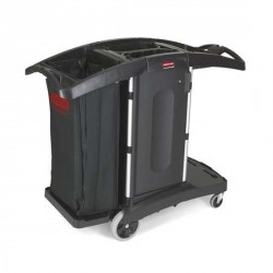Chariot d'étage compact repliable RUBBERMAID
