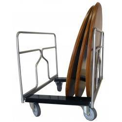 Chariot porte tables rondes ou rectangulaires 300 kg